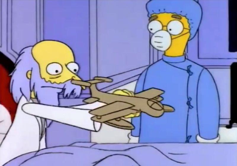 Señor Burns y los parásitos